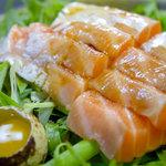 漁料理 やまね - サーモンの刺身定食