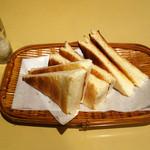 純喫茶 車 - トースト