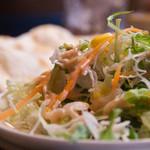 タカリバンチャ - インディアンランチのサラダ