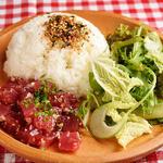 手づかみシーフード Makky's The Boiling Shrimp - マグロポキプレート