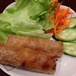 タンフン - 料理写真:揚げ春巻き