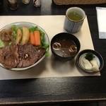 47060414 - ステーキ丼:松坂牛(単品)