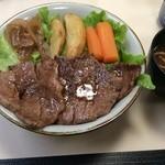 47060417 - ステーキ丼:松坂牛(単品)