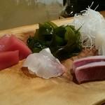 寿司 紫 - 刺身の図