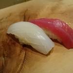 寿司 紫 - にぎりの図