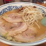 静雨庵 - 味噌チャーシュー麺850円