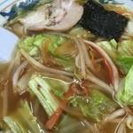 チャボ食堂 - 見た目はいいが、スープが、、、なんなの!!