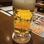 すきずき - 生ビール 520円