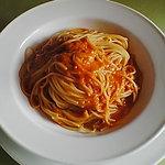 4707922 - カニ肉のトマトクリームソースのスパゲティ