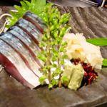 みなと寿司 - 〆鯖刺身