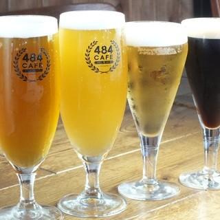 豊富なクラフトビールの数