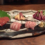 鶏屋ぜんろく - 刺身(5種盛)