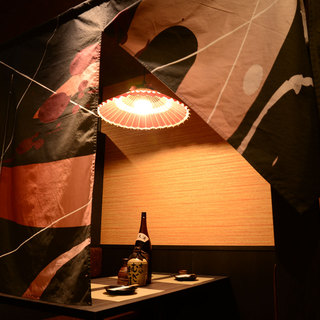 ◆雰囲気自慢!寛げる充実の少人数個室完備◆