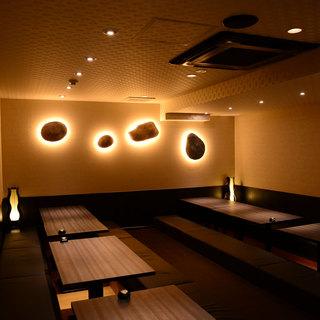 ◆大人の隠れ家個室♪広々個室☆最大40名様までご対応!◆