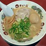 天下一品 - 【こってりラーメン + 煮玉子】¥730 + ¥100