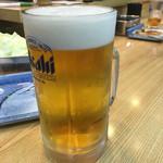 天七 - 生ビール大(750円)