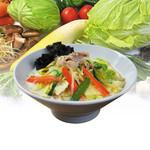 秋田タンメン べじば - 料理写真:旬の野菜が10種類「濃厚鶏白湯タンメン」