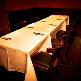 接待や大切な会食には個室をご利用頂けます。