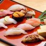 寿司海鮮 たはら - ◆おまかせ(松)10貫