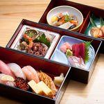 寿司海鮮 たはら - ◆松花堂弁当 (上生寿し付き)