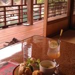瀞ホテル - H27/5おかずマフィンと自家製ジンジャエール