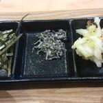 和風カフェ しゅしゅ - お茶漬けのお供