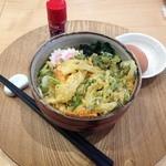 和風カフェ しゅしゅ - かき揚げ蕎麦