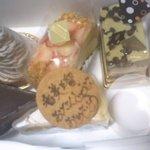 ドイツ菓子 ホーゲル - メッセージ付けて貰いました