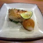 やまさん - 白甘鯛の鱗焼 鱗のパリパリ感と身のジューシーさが素晴らしい!
