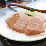 スタミナ軒 - 料理写真:2015年11月 特選上バラ【1500】厚みあります!