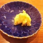 やまさん - 豆腐の味噌漬け 酒盗①
