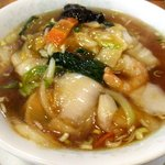 中国料理天新 - 広東麺(ウマニソバ)!