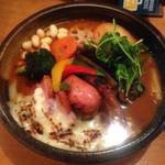 47081599 - ベーコン&フランク&焦がしチーズトマト野菜