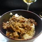 山猫軒 - 見島牛の牛丼(絶品)