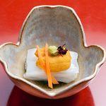 寿司海鮮 たはら - ◆ヤリイカのウニのせ
