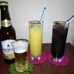 アイリス - ソフトドリンク(ノンアルコールビール、オレンジジュース、コーラ)