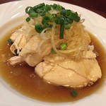 状元郷 - 蒸し鶏/900円