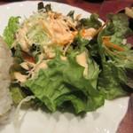 trattoria SATOMI fooding - サラダはフレッシュ