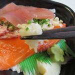 海鮮づくし丼丸 -