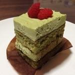 クレマスイーツ - ピスタチオのショートケーキ