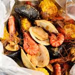 手づかみシーフード Makky's The Boiling Shrimp - 手づかみシーフード