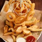 手づかみシーフード Makky's The Boiling Shrimp - オニオンリングタワー(M size)