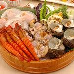 豆一 - 産直魚介の七輪焼 月 3,500円