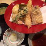 47093072 - 天ぷら定食  1100円
