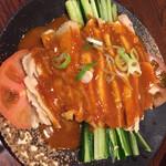 台湾料理 味鮮館 - 2016.02.02 バンバンジ-