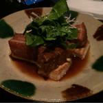47093771 - ラフテーと島豆腐と島野菜のハーモニー