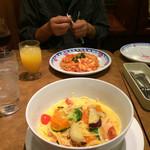ジョリーパスタ - 季節限定の秋野菜がたっぷり入ったパスタ