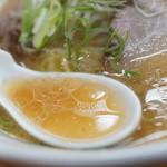 新さっぽろらーめん 龍竜 - スープ