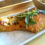47097182 - 鮭の西京焼き