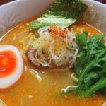 麺中夢中 - 鶏ガラ味噌ラーメン